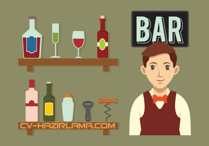 barman cv örnekleri