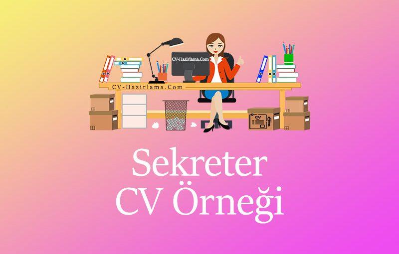 Sekreter CV Örneği